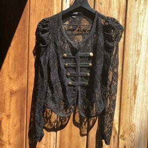 Forever 21| Black Lace Jacket